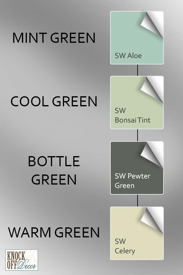sw green differences