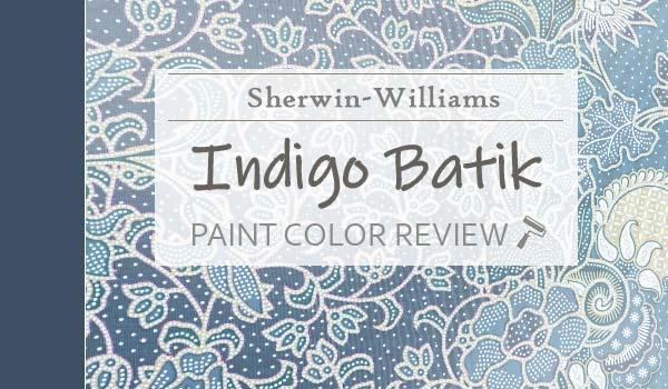 sw indigo batik paint color review
