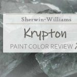 sw krypton paint color review