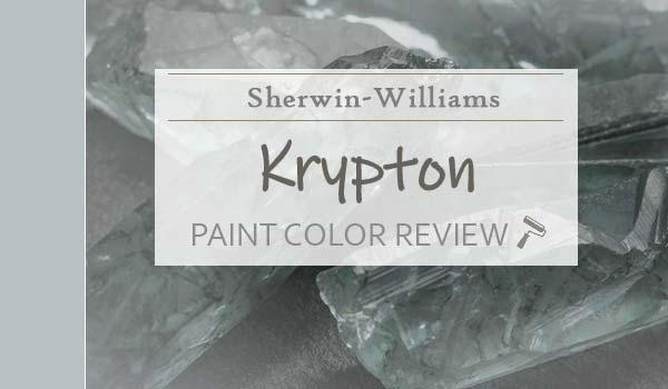 sw krypton paint color review
