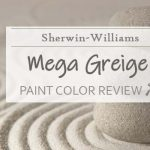 sw mega greige paint color review