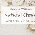 sw natural choice paint color review