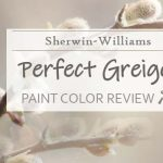 sw perfect greige paint color review