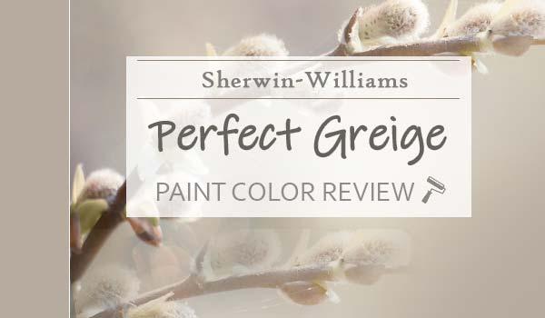 sw perfect greige paint color review