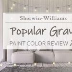 sw popular gray paint color review