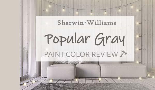 sw popular gray paint color review
