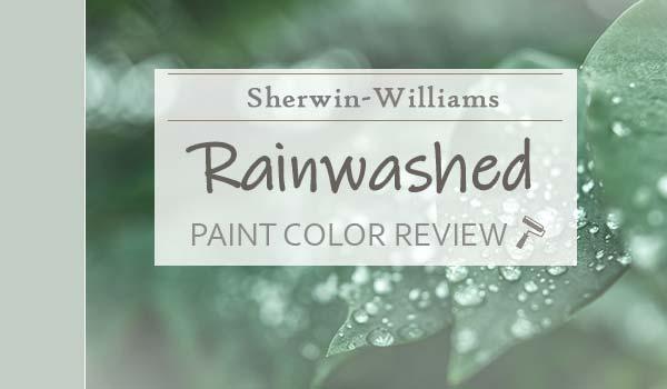 sw rainwashed paint color review