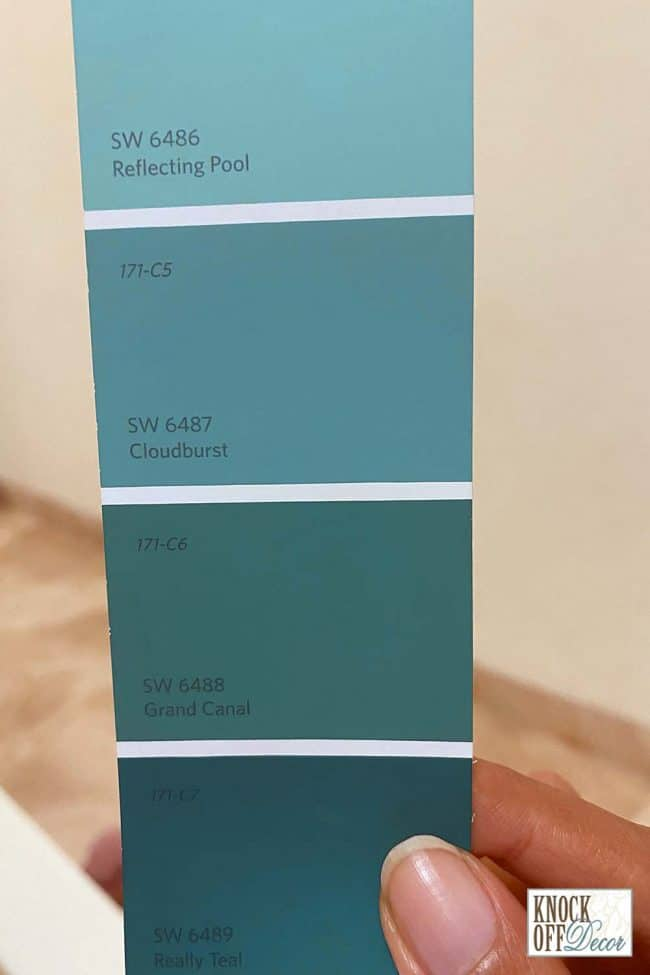 sw really teal collection