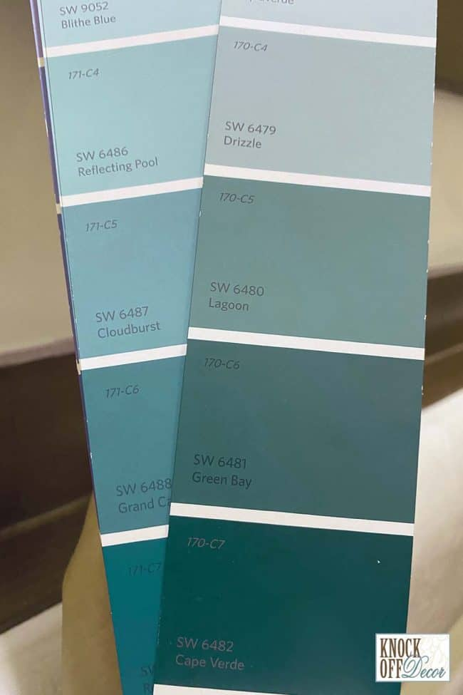 sw really teal pallets