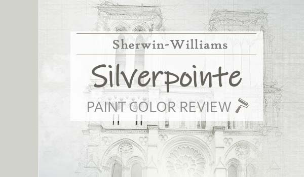 sw silverpointe paint color review