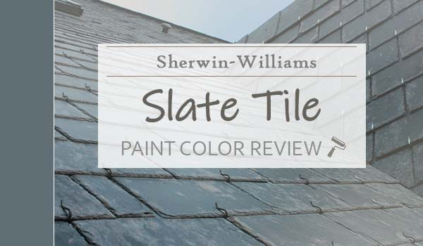 sw slate tile paint color review