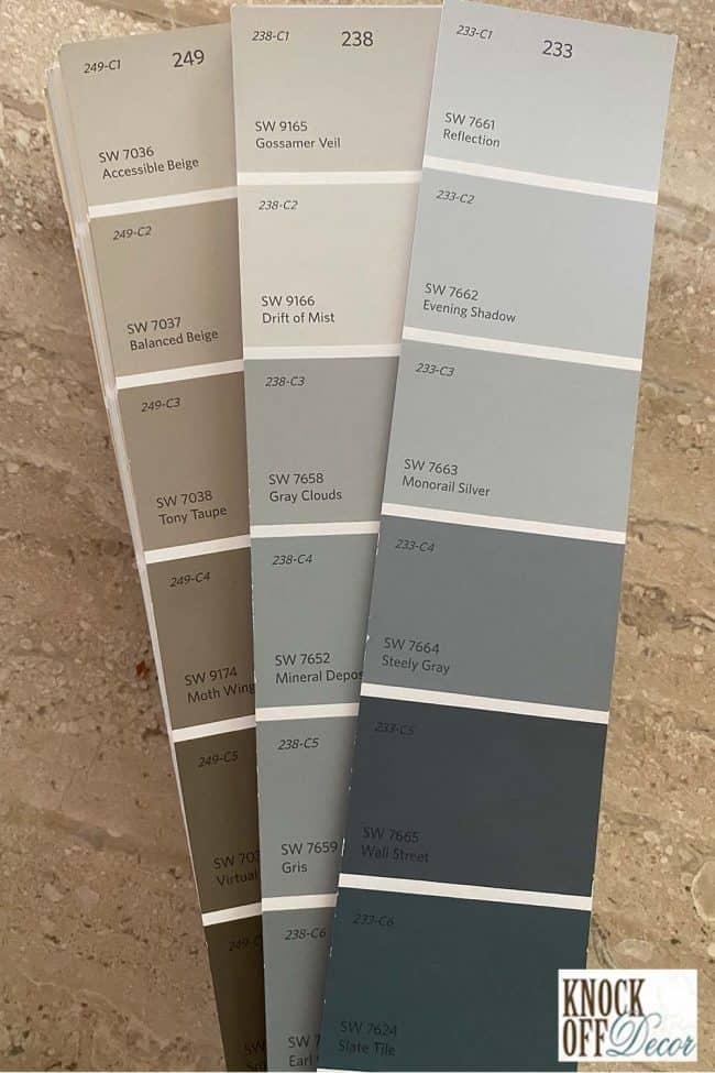 sw slate tile palettes