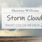 sw storm cloud paint color review