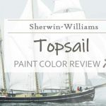 sw topsail paint color review