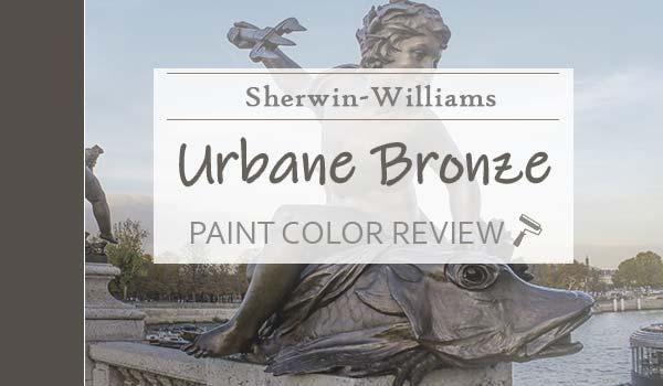 sw urbane bronze paint color review