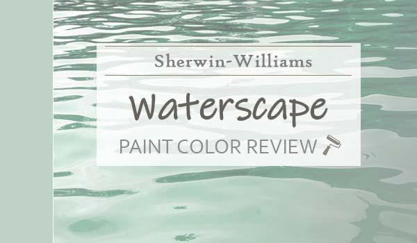 sw waterscape paint color review