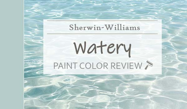 sw watery paint color review