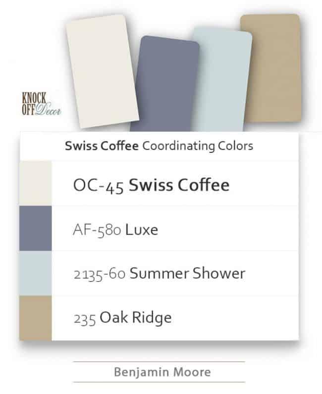 swiss coffee coordination