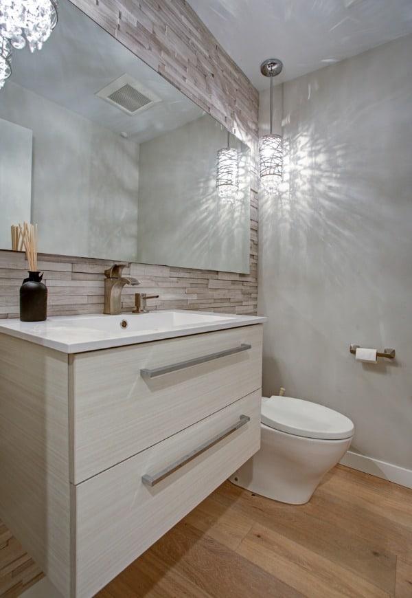 taupe bathroom style