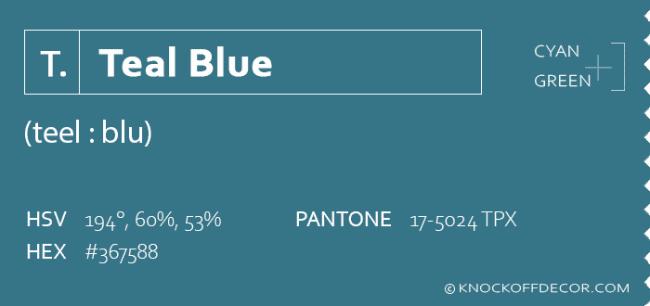 teal blue info box