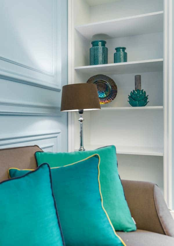 teal in home decor