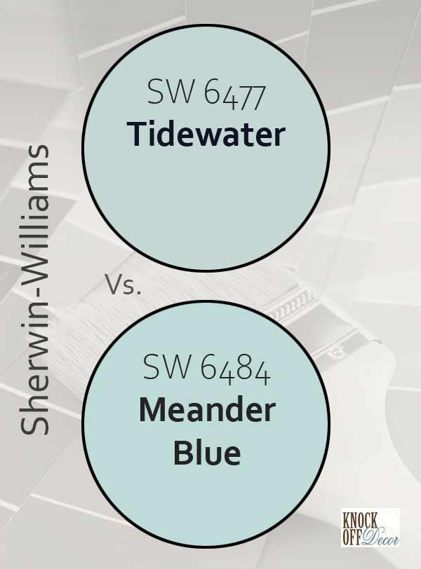 tidewater vs meander blue