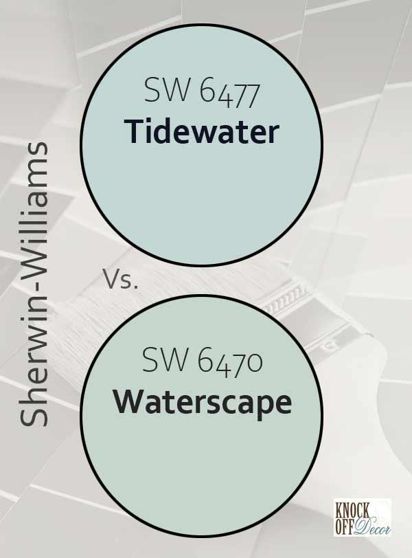 tidewater vs waterscape
