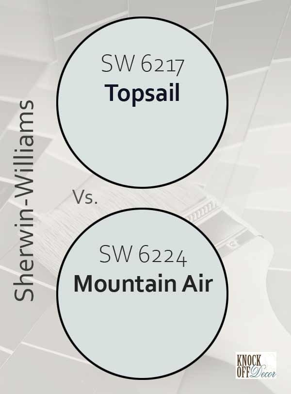 topsail vs mountain air