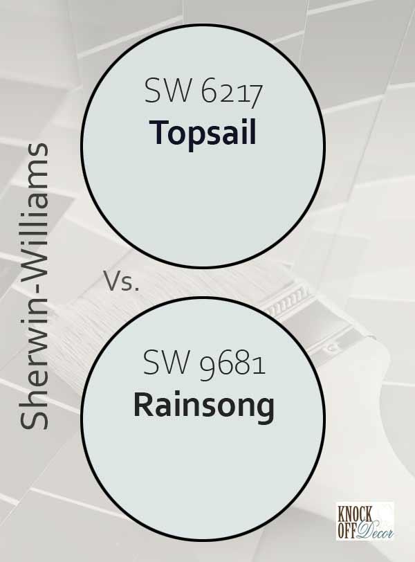 topsail vs rainsong