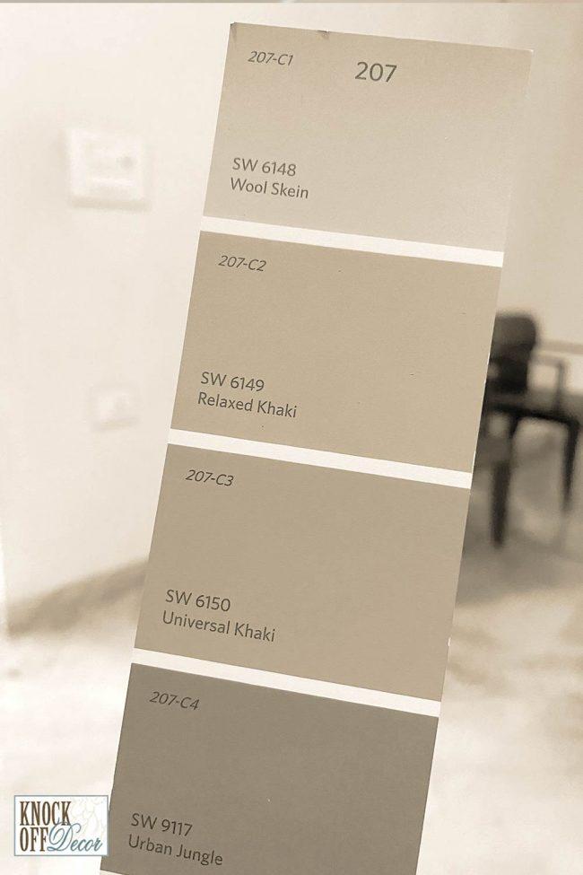 univ khaki color strip