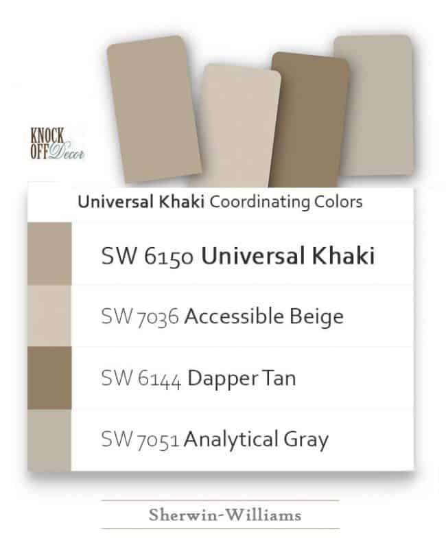 universal khaki coordination