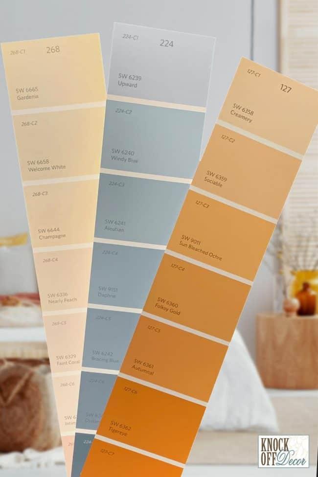 upward color pairing ideas