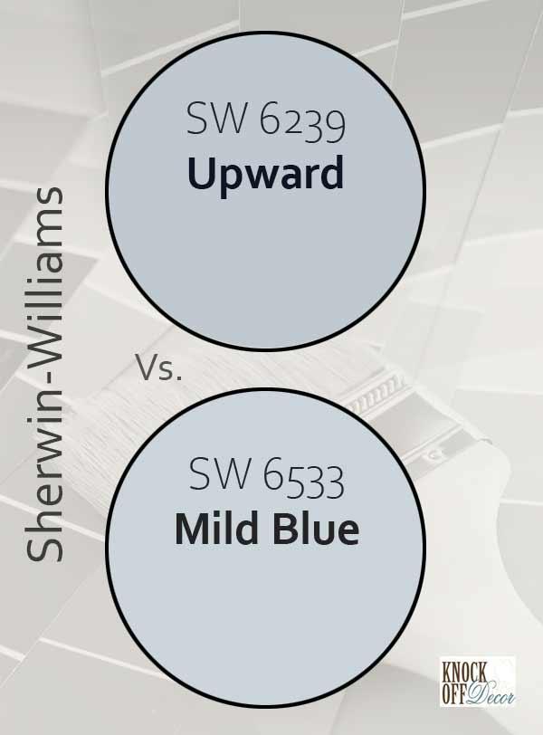 upward vs mild blue