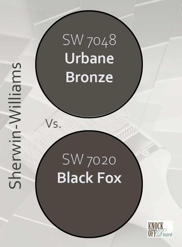 urbane bronze vs black fox