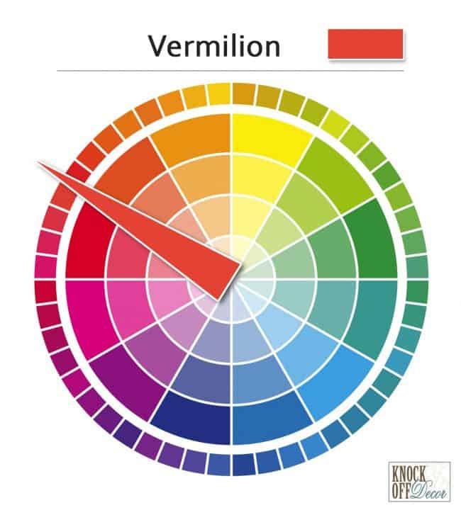 vermilion on wheel