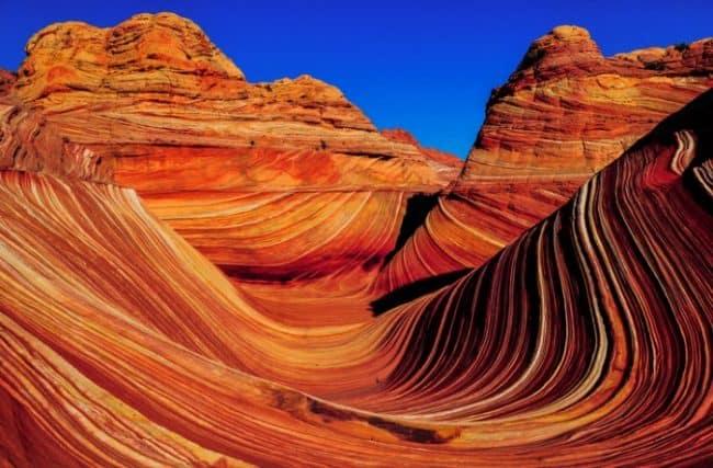 vermilion sandstone cliffs