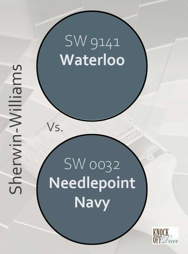 waterloo vs needlepoint navy