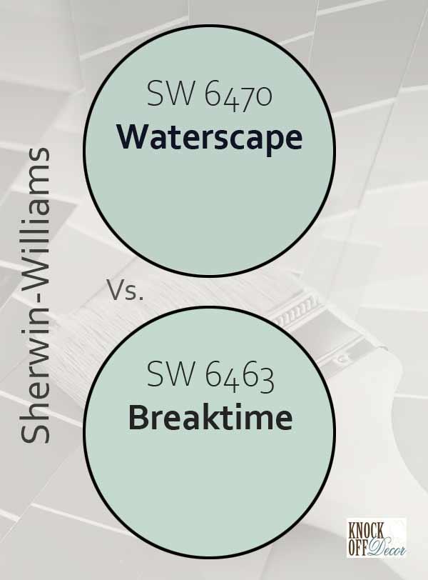 waterscape vs breaktime