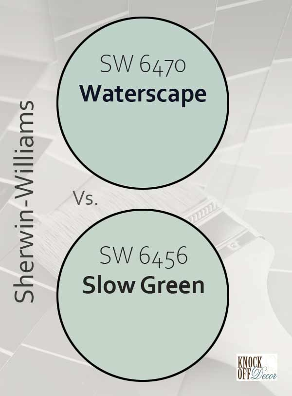 waterscape vs slow green