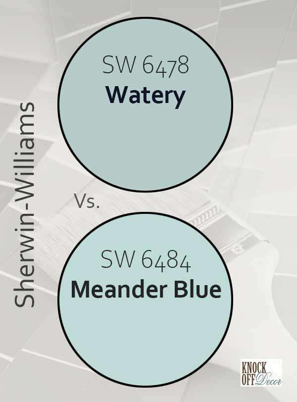 watery vs meander blue