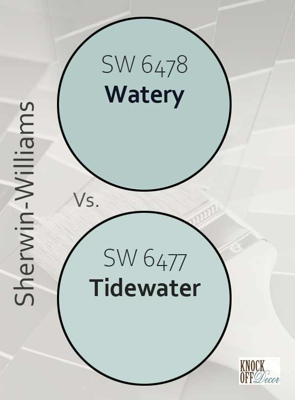watery vs tidewater