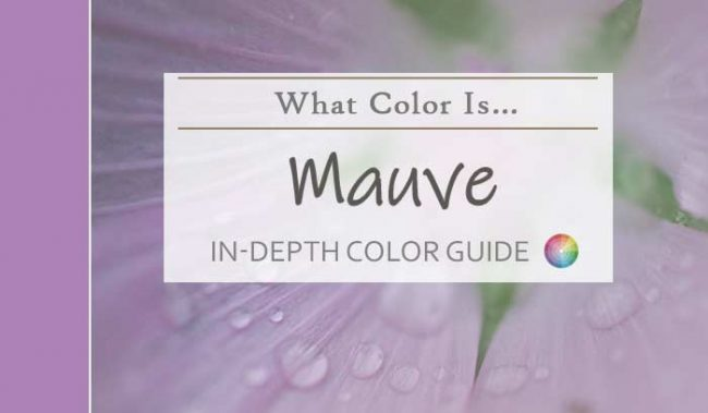 what color is mauve hdr