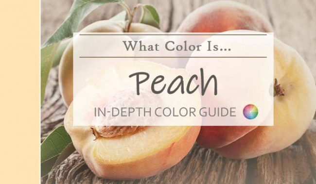 what color is peach hdr