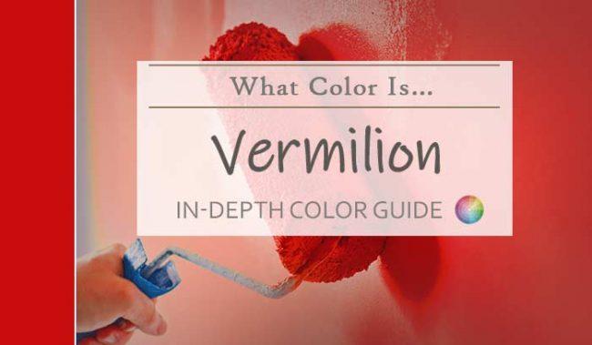 what color is vermilion hdr