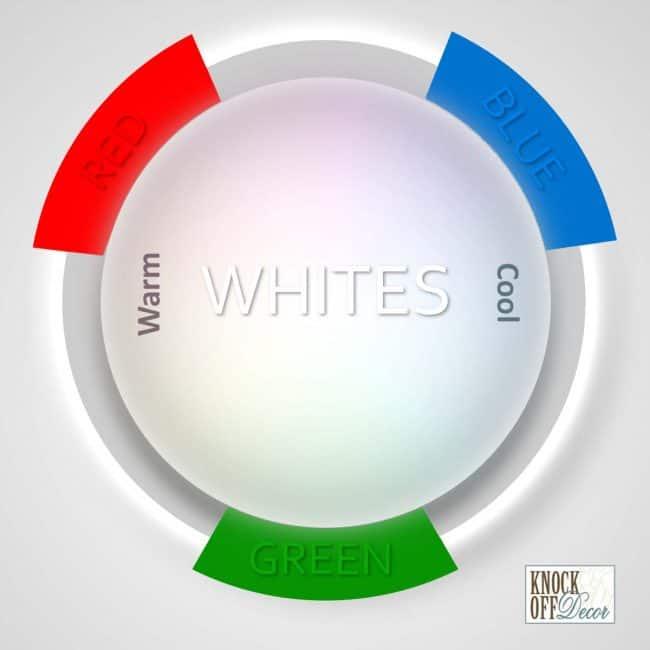 white color blend gradation