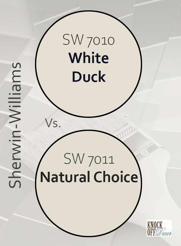 white duck vs natural choice