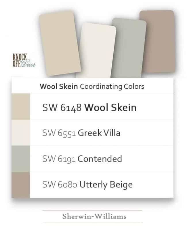 wool skein coordination