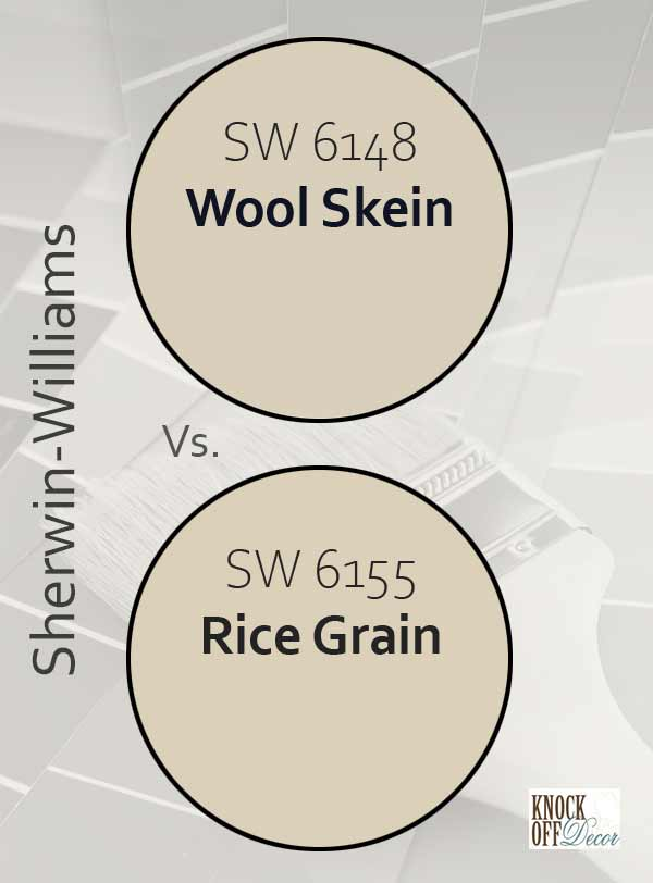 wool skein vs rice grain
