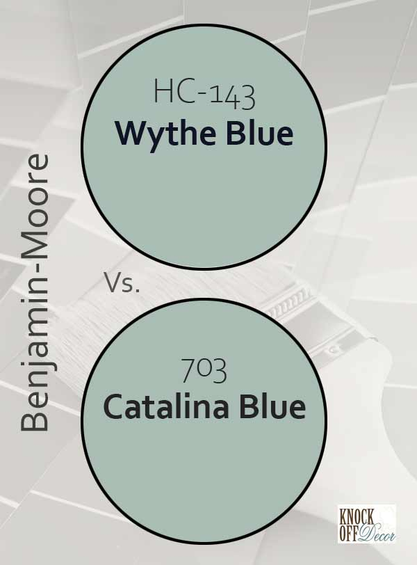 wythe blue vs catalina blue