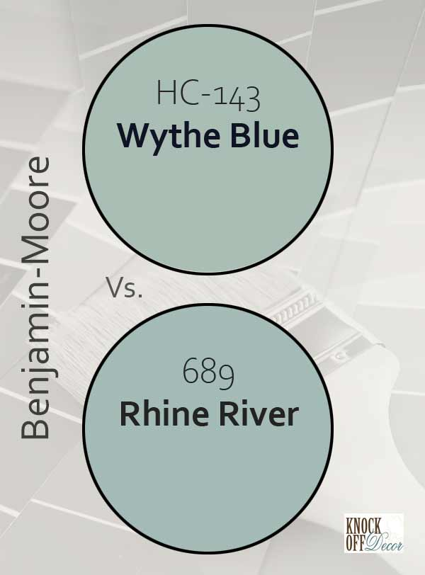 wythe blue vs rhine river